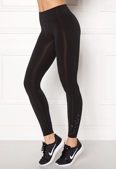 ONLY PLAY Everdeen Seamless Tights Black Bubbleroom.no