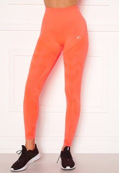 ONLY PLAY Jase Circular HW Tights Fiery Coral Bubbleroom.no