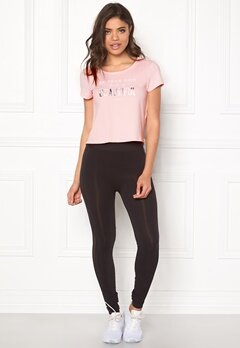 ONLY PLAY Nilo Short Training Tee Pink Dogwood Bubbleroom.no