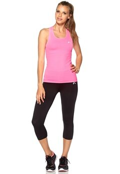 ONLY PLAY Solange Seamless Tank Neon Pink Bubbleroom.no