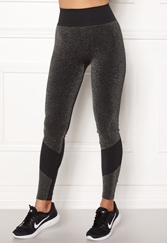 ONLY PLAY Sparkle Seamless Tights Black Bubbleroom.no