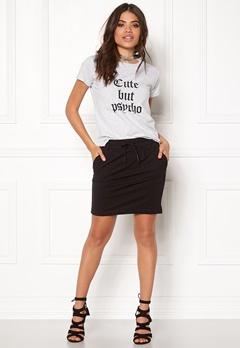 ONLY Poptrash Easy Skirt Black Bubbleroom.no