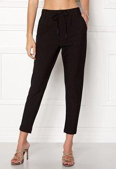 ONLY Poptrash Pinstripe Pants Black Bubbleroom.no