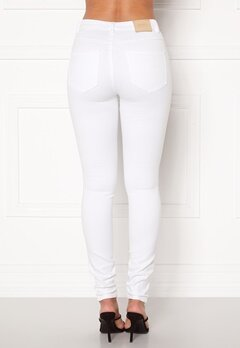 ONLY Royal HW Jeans White Bubbleroom.no