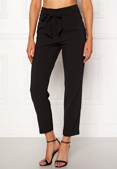 ONLY Runa Paperbag Pant Black Bubbleroom.no