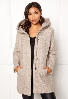 ONLY Sedona Boucle Wool Coat Nomad Bubbleroom.no