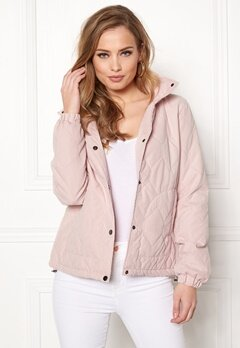 ONLY Serena Quilted Jacket Rose Smoke Bubbleroom.no