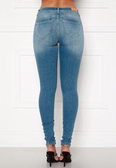 ONLY Shape Life Reg Sk Jeans Light Blue Denim Bubbleroom.no