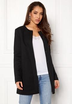 ONLY Sidney Light Coat Black Bubbleroom.no