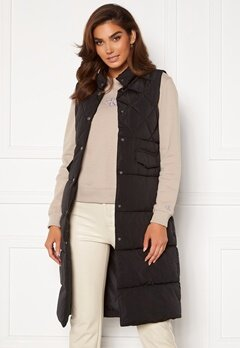 ONLY Stacy Quilted Waistcoat black<br>  Bubbleroom.no