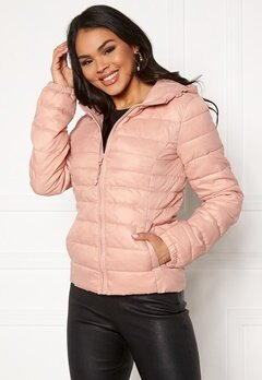 ONLY Tahoe Hood Jacket Misty Rose Bubbleroom.no