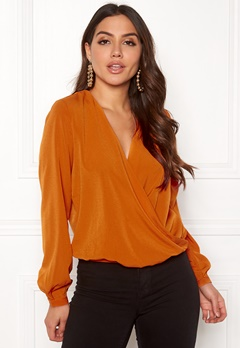ONLY Toscany L/S Deep Top Marmalade Bubbleroom.no