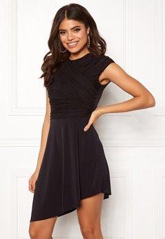 ONLY True S/L Drappy Dress Black Bubbleroom.no