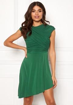ONLY True S/L Drappy Dress Verdant Green Bubbleroom.no