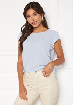 ONLY Vic S/S Solid Top Kentucky Blue Bubbleroom.no