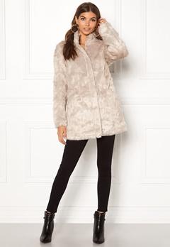 ONLY Viva Fur Coat Pure Cashmere Bubbleroom.no