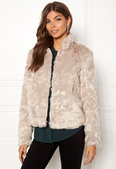 ONLY Viva Fur Jacket Pure Cashmere Bubbleroom.no
