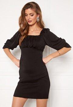 ONLY Vivi Short String Dress Black Bubbleroom.no
