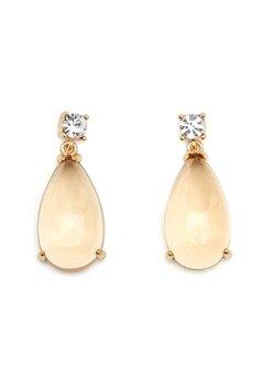 SNÖ of Sweden Oscar Small Pendant Ear Gold/Champagne Bubbleroom.no