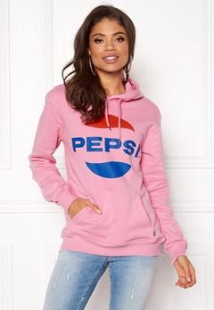 Pepsi Sweet Pepsi Logo Hoodie Pink Bubbleroom.no