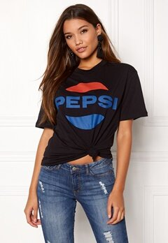 Pepsi Sweet Pepsi Tee Black Bubbleroom.no