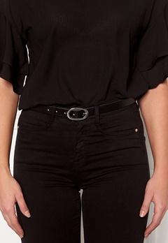 Pieces Ana Leather Jeans Belt Black Bubbleroom.no