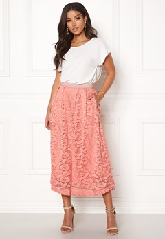 c4ae15ed Pieces Beda Ankle Lace Skirt Rose Dawn Bubbleroom.no
