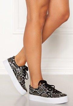 Pieces Carma Snake Sneakers Black Bubbleroom.no