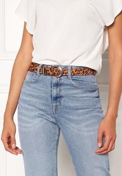 Pieces Cynlee Leather Jeans Belt Cognac Bubbleroom.no