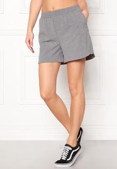 Pieces Donni Shorts Light Grey Melange Bubbleroom.no