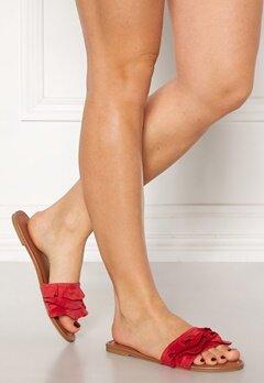 Pieces Eagen Sandal Shoes Aura Orange Bubbleroom.no