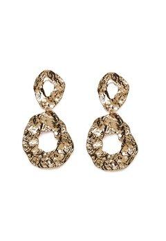 Pieces Frija Earrings Gold Colour Bubbleroom.no