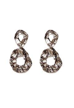 Pieces Frija Earrings Silver Colour Bubbleroom.no