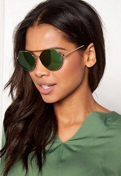 Pieces Gili Sunglasses Rose Gold Colour Bubbleroom.no