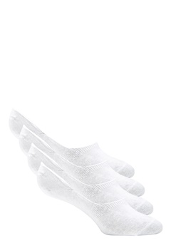 Pieces Gilly Footies 4 Pack Bright White Bubbleroom.no