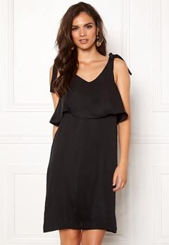 Pieces Grizela Strap Dress Black Bubbleroom.no