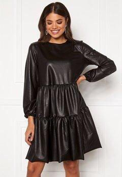 Pieces Hannah LS Dress Black Bubbleroom.no