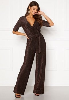 Pieces Infina 2/4 Jumpsuit Black Bubbleroom.no