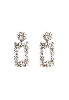 Pieces Janet Earrings Silver Colour Bubbleroom.no