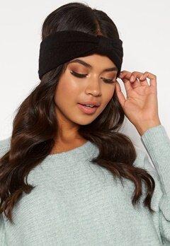 Pieces Josefine Wool Headband Black Bubbleroom.no