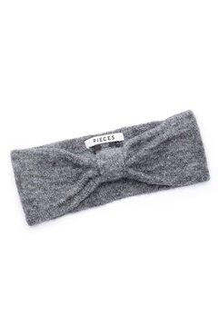 Pieces Josefine Wool Headband Medium Grey Melange Bubbleroom.no