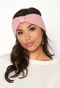 Pieces Josefine Wool Headband Peachskin Bubbleroom.no