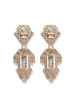Pieces Kenzie Earrings Gold Bubbleroom.no