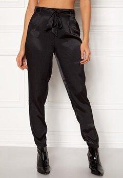 Pieces Laura Ankle Pants Black Bubbleroom.no