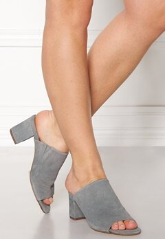Pieces Mela Suede Shoes Grey Bubbleroom.no