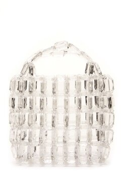Pieces Milka Pearl Bag Bright White Bubbleroom.no