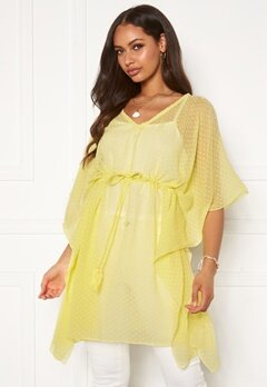 Pieces Nala Kaftan Limelight Bubbleroom.no