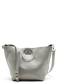 Pieces Naomi Bag Light Grey Melange Bubbleroom.no