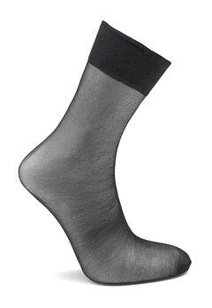 Pieces New Nikoline 2-Pack 20 Den Knee Socks Black Bubbleroom.no