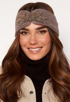 Pieces Sanja Wool Headband Black Bubbleroom.no